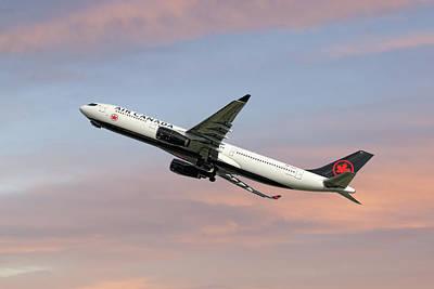 Air Canada Airbus A330-343  Poster