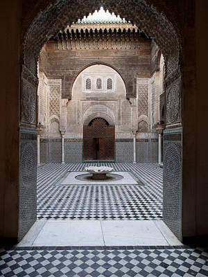 Al-attarine Madrasa Built By Abu Poster