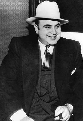 Al Capone Poster by American School