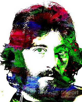Al Pacino Abstract  Poster by John Malone