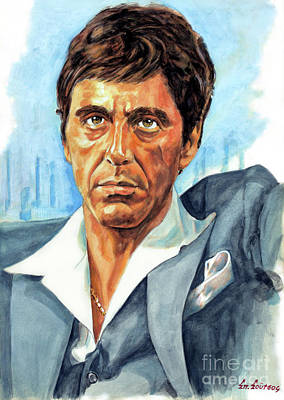 Al Pacino Scarface Poster
