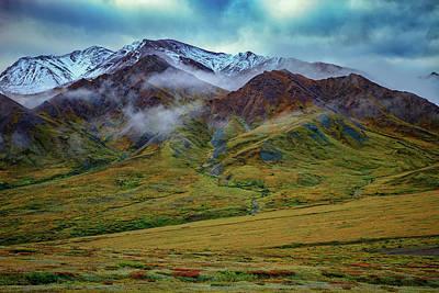 Alaskan Foothills Poster