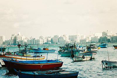 Alexandrian Harbour Poster