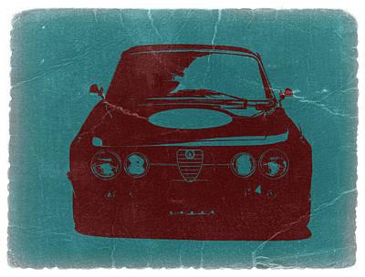 Alfa Romeo Gtv Poster by Naxart Studio