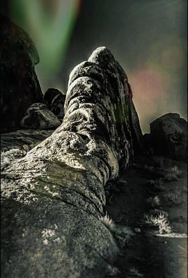 Alien Landscape Poster by Jim Cook