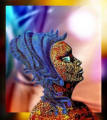 Alien Portrait Poster