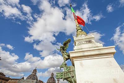 Altare Della Patria Roma Poster