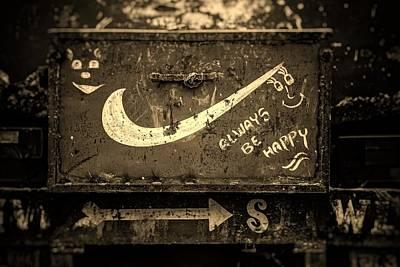 Always Be Happy Poster by Unsplash - Igor Ovsyannykov