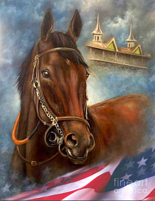 American Pharoah Poster by Patrice Torrillo