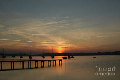 Ammersee Poster by Nichola Denny