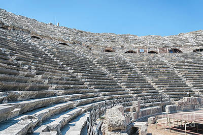 Amphitheatre In Side Poster
