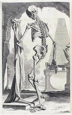 Anatomia Humani Corporis, Table 88, 1690 Poster