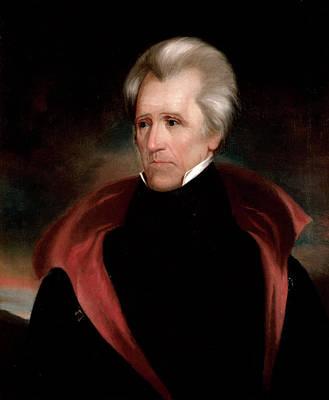Andrew Jackson Poster by Ralph Eleaser Whiteside Earl