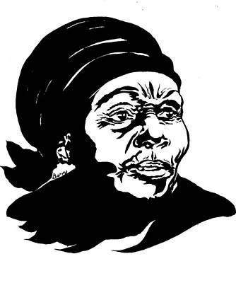 Anne Marie Nzie Poster by Emmanuel Baliyanga