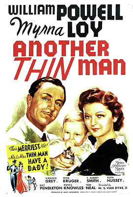 Another Thin Man 1939 Poster by M G M