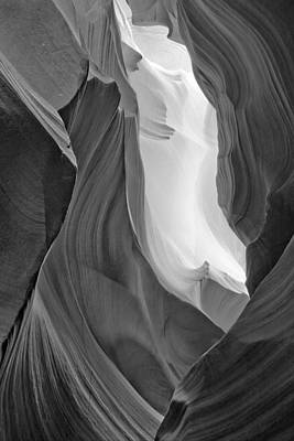 Antelope Canyon Poster by Carl Amoth