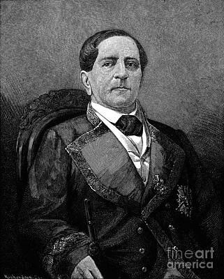 Antonio Lopez De Santa Anna Poster by Granger
