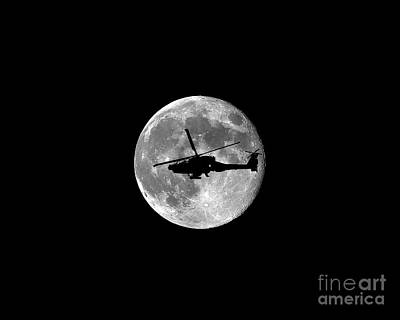 Apache Moon .png Poster by Al Powell Photography USA