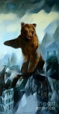 Apocalypse Poster by Jukka Nopsanen