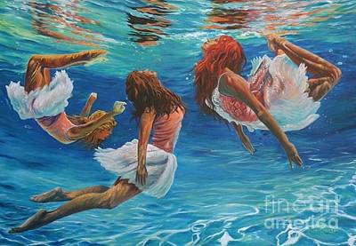 Aquarina's  Poster by Rex Robinson