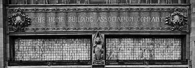 Architectural Detail - Newark Ohio Poster