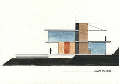 Architectural Drawing Poster