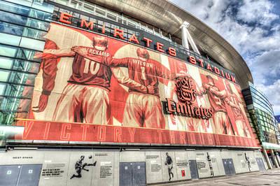 Arsenal Fc Emirates Stadium London Poster by David Pyatt