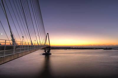 Arthur Ravenel Jr Bridge Sunrise Poster by Dustin K Ryan