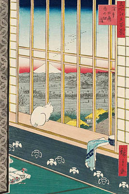 Asakusa Rice Fields And Torinomachi Festival Poster
