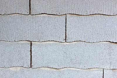 Asbestos Asphalt Composition Shingles Poster by Inga Spence