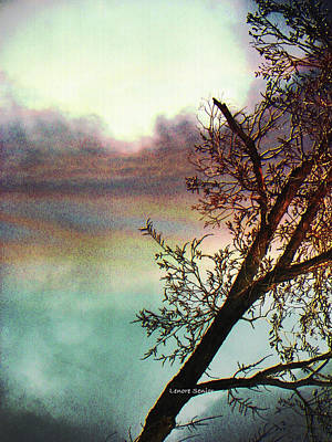 At Sunset Poster by Lenore Senior