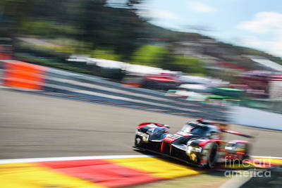 Audi R18 E-tron Quattro Le Mans Prototype Race Car Poster