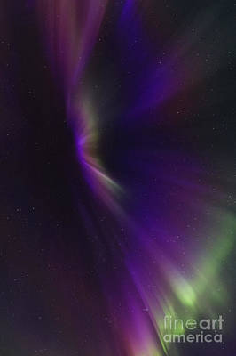 Aurora Corona In The Sky Of Iceland Poster by Babak Tafreshi