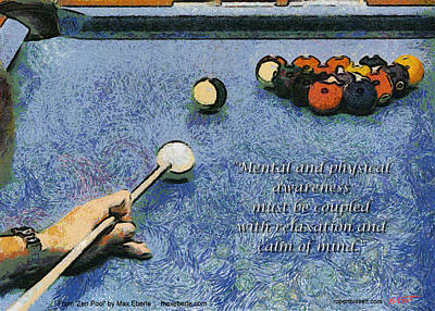 Awareness Zen Pool Poster