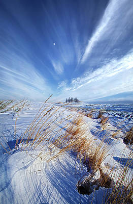Azure Poster by Phil Koch