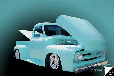 Poster featuring the photograph Baby Blue 2 by Jim  Hatch