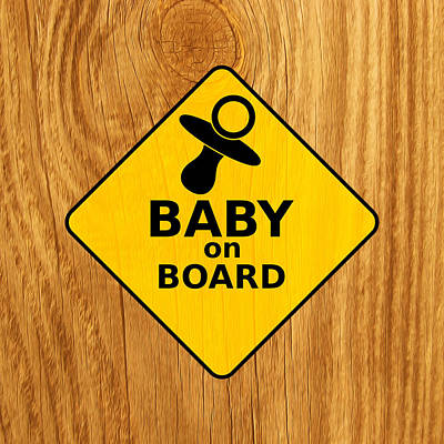 Baby On Board Poster by Michelle Murphy