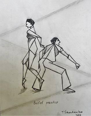 Ballet Practice Poster