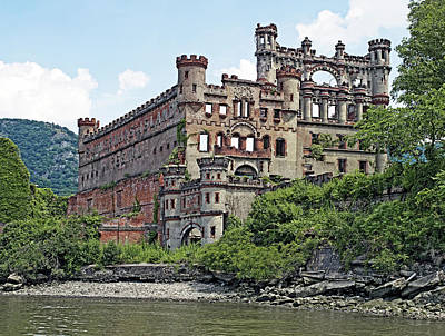 Bannerman Castle On Pollepel Island In The Hudson River New York Poster