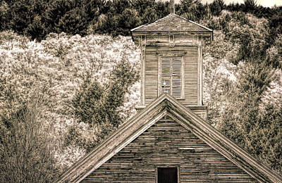 Barn Montgomery Vermont Poster