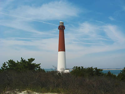 Barnegat Lighthouse - New Jersey Poster by Bill Cannon