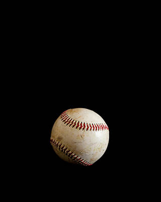 Baseball Isolated Poster by Erin Cadigan