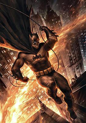 Batman The Dark Knight Returns 2012  Poster by Caio Caldas
