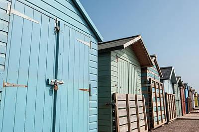 Beach Huts Vi Poster