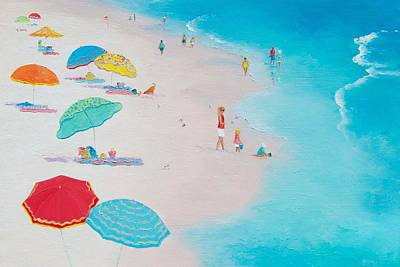 Beach Painting - One Summer Poster