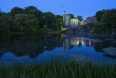 Belvedere Castle Poster by Christian Heeb