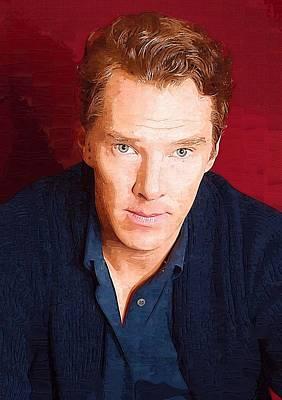 Benedict Cumberbatch Art Poster