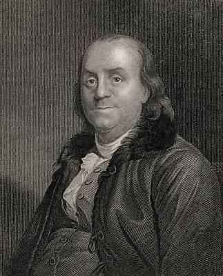 Benjamin Franklin, 1706 To 1790 Poster