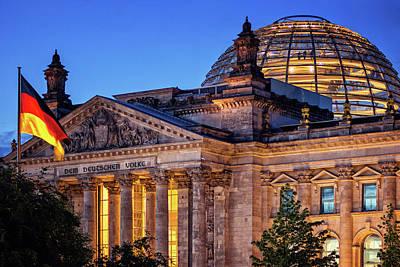 Berlin - Reichstag Building Poster by Alexander Voss