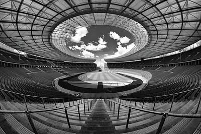 Berlin's Olympic Stadium Poster